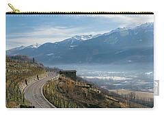 Swerving Road In Valtellina, Italy Carry-all Pouch