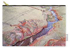 swift creek at  Colorado foothills - aerial view Carry-all Pouch