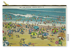 Swimming At Virginia Beach Carry-all Pouch