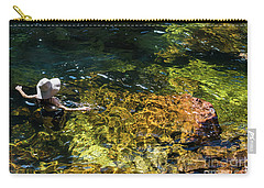 swimming in the Buley Rockhole waterfalls Carry-all Pouch