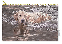 Swimming Puppy Carry-all Pouch