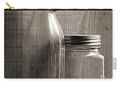 Jar And Bottle  Carry-all Pouch by Sandra Church