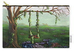 Swingin' With The Flowers Carry-all Pouch