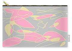 Swirl 3 Carry-all Pouch by Linda Velasquez