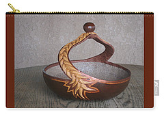 Swirl Rope Carry-all Pouch by Barbara Prestridge