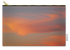 Swirling Clouds In Evening Carry-all Pouch