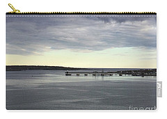 Swirling Currents On Casco Bay Carry-all Pouch by Patricia E Sundik