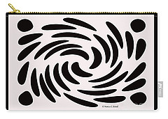 Swirls N Dots 56 Carry-all Pouch