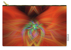 Carry-all Pouch featuring the photograph Swirly Twirls by Cathy Donohoue