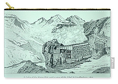 Swiss Alpine Cabin Carry-all Pouch