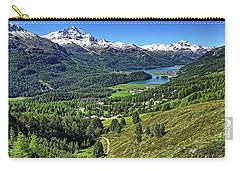 Swiss Alps And Lake Carry-all Pouch