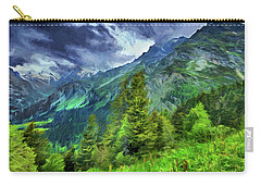 Swiss Countryside Carry-all Pouch