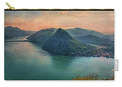 Carry-all Pouch featuring the photograph Swiss Rio by Hanny Heim
