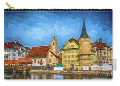 Swiss Town Carry-all Pouch by Pravine Chester