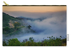 Switchbacks In The Clouds Carry-all Pouch by Joseph Hollingsworth