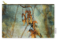 Carry-all Pouch featuring the photograph Sycamore Seeds by Liz Alderdice