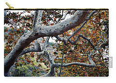 Sycamore Tree Abstraction Carry-all Pouch
