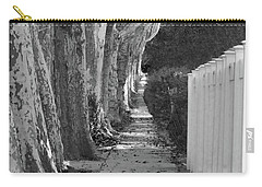 Sycamore Walk-grayscale Version Carry-all Pouch