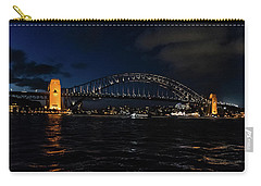 Sydney Bridge At Night Carry-all Pouch