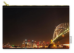 Sydney By Night Carry-all Pouch by Kaleidoscopik Photography