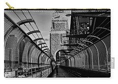 Sydney Harbor Bridge Bw Carry-all Pouch