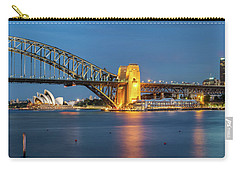 Sydney Harbour At Dusk Carry-all Pouch