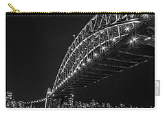 Sydney Harbour Bridge At Night Carry-all Pouch