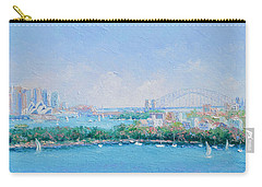 Sydney Harbour Bridge - Sydney Opera House - Sydney Harbour Carry-all Pouch