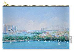 Sydney Harbour Bridge - Sydney Opera House - Sydney Harbour Carry-all Pouch by Jan Matson