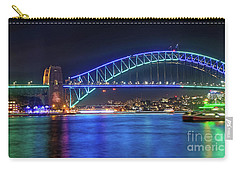 Sydney Harbour Green And Blue By Kaye Menner Carry-all Pouch