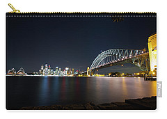 Sydney Harbour Silk Carry-all Pouch