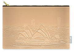 Sydney Opera House No. 17-2 Carry-all Pouch by Sandy Taylor