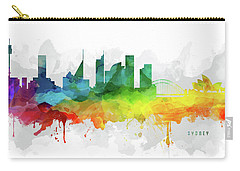 Sydney Skyline Mmr-ausy05 Carry-all Pouch by Aged Pixel