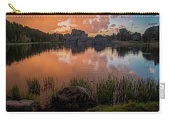 Carry-all Pouch featuring the photograph Sylvan Lake by Gary Lengyel