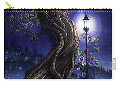 Sylvia And Her Lamp At Dusk Carry-all Pouch