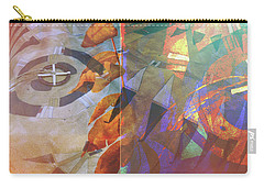 Symbolism No. 5 Carry-all Pouch by Toni Hopper
