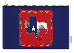 Symbols Of Texas Carry-all Pouch