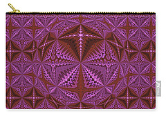 Symmetrical Pattern, Kaleidoscope Carry-all Pouch