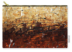 Carry-all Pouch featuring the painting Symphony by Carmen Guedez