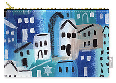 Synagogue- City Stories Carry-all Pouch