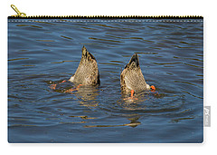 Synchronized Swimming Carry-all Pouch by John Roberts
