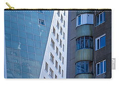 Carry-all Pouch featuring the photograph Synergy Between Old And New Apartments by John Williams