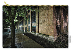 Carry-all Pouch featuring the photograph Syracuse Sidewalks by Everet Regal