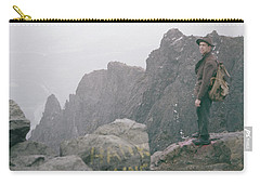 T-04701 Fred Beckey On Mt. Si 1958  Carry-all Pouch