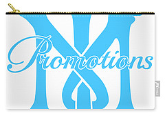 Carry-all Pouch featuring the drawing T And M Promotions Logo by Nicholas Grunas