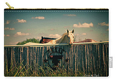 T For Texas Carry-all Pouch by Karen Slagle