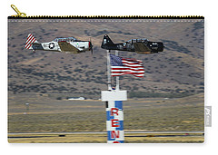 T6 Tango At Reno Air Races Home Pylon Finish Line Carry-all Pouch