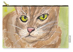Tabby With Attitude Carry-all Pouch