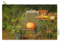 Table For One Carry-all Pouch by Colleen Taylor