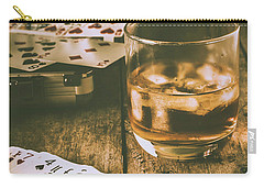 Table Games And The Wild West Saloon  Carry-all Pouch